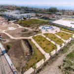El Ayuntamiento crea una zona verde de 20.000 metros cuadrados en la zona de Bel-Air