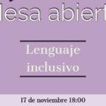 La Asociación de Mujeres Peñas Blancas organiza una mesa abierta bajo el título 'Lenguaje inclusivo'