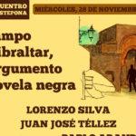 El Ayuntamiento de Estepona y La Fundación Manuel Alcántara organizan el encuentro 'El Campo de Gibraltar, un argumento de novela negra'